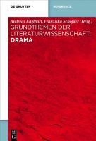 Grundthemen der Literaturwissenschaft  Drama PDF