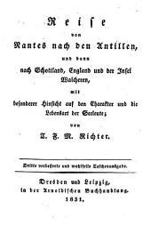 Reisen zu Wasser und zu Lande, in den Jahren 1805 - 1817: Für die reifere Jugend zur Belehrung und zur Unterhaltung für Jedermann, Band 4