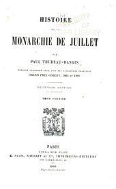 Histoire de la monarchie de juillet: Volume1