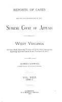 Reports of Cases Argued and Determined in the Supreme Court of Appeals of West Virginia PDF
