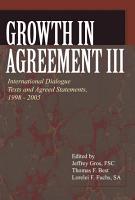 Growth in Agreement III PDF