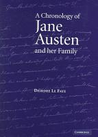 A Chronology of Jane Austen and Her Family PDF
