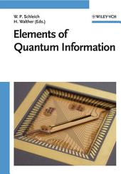 Elements of Quantum Information