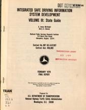 Integrated Safe Driving Information System Development: Final report