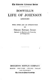 Boswell's life of Johnson (abridged)