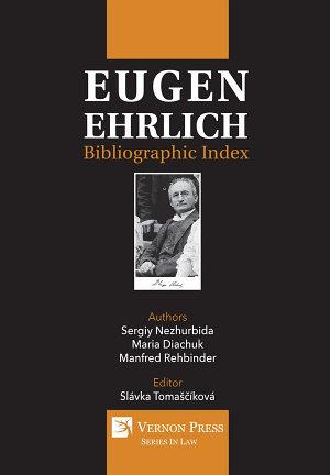 Eugen Ehrlich  Bibliographic Index PDF