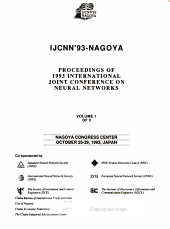 Proceedings of 1993 International Joint Conference on Neural Networks