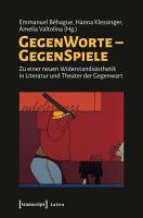 GegenWorte   GegenSpiele PDF