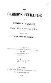Les charbons feuilletés de Durnten et d'Utznach