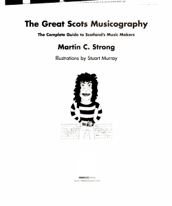 The Great Scots Musicography PDF