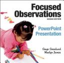 Focused Observations Powerpoint Presentation PDF