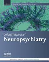 Oxford Textbook of Neuropsychiatry PDF