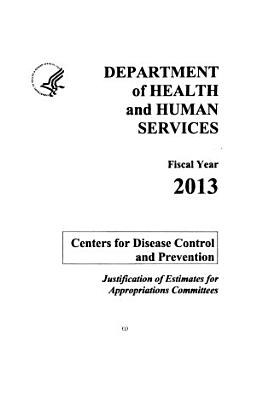 Departments of Labor, Health and Human Services, Education, and Related Agencies Appropriations for 2013