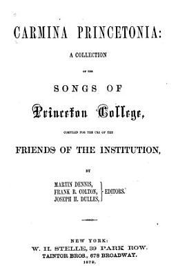 Carmina Princetonia PDF