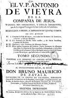 El V P  Antonio de Vieyra     Todos sus sermones y obras diferentes que de su original portugu  s se han traducido en castellano PDF