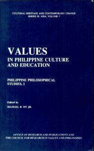 Values in Philippine Culture and Education Book