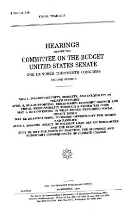 Mid session Hearings for Fiscal Year 2015 PDF