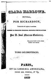 Clara Harlowe: novela, Volumen 13