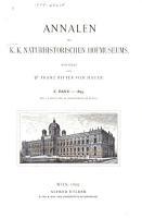 Annalen des Naturhistorischen Museums in Wien PDF