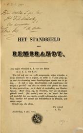 Het standbeeld van Rembrandt