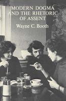 Modern Dogma and the Rhetoric of Assent PDF