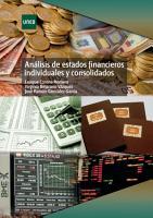 AN  LISIS DE ESTADOS FINANCIEROS INDIVIDUALES Y CONSOLIDADOS PDF