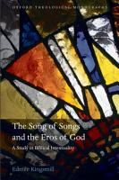 The Song of Songs and the Eros of God PDF