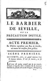 Le barbier de Séville,: comédie