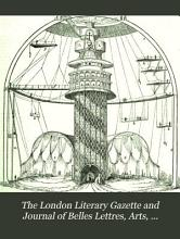 The London Literary Gazette and Journal of Belles Lettres  Arts  Sciences  Etc PDF