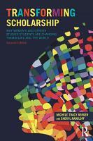 Transforming Scholarship PDF