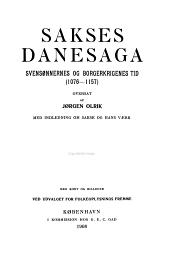 Sakses Danesaga: Volumes 1-2