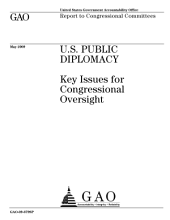 U. S. Public Diplomacy: Key Issues for Congressional Oversight