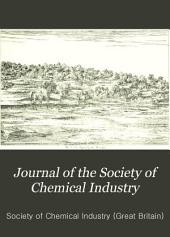 Journal of the Society of Chemical Industry: Volume 9