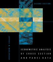Econometric Analysis of Cross Section and Panel Data  second edition PDF