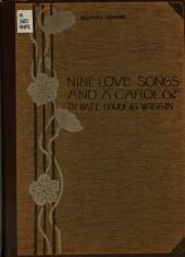 Nine Love Songs and a Carol