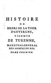 Histoire du vicomte de Turenne [signed de Ramsay].