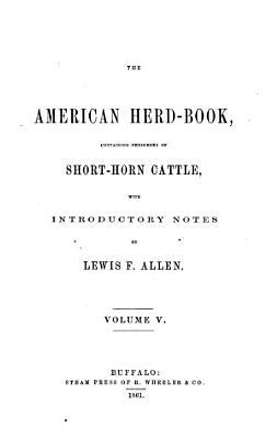 The American Herd Book PDF