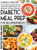 Diabetic Meal Prep for Beginners 2021 PDF