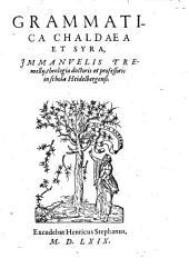 Grammatica chaldaea et Syra