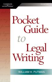 The Pocket Guide to Legal Writing