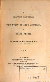 A Practical Commentary Upon the First Epistle General of Saint Peter: Volume 2