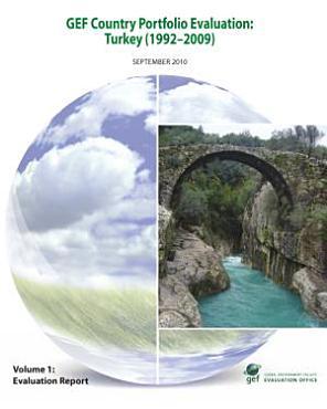 GEF Country Portfolio Evaluation  Turkey  1992   2009  PDF