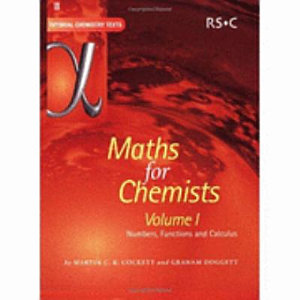 Maths for Chemists  Numbers  functions and calculus PDF