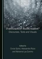 Translation or Transcreation  Discourses  Texts and Visuals PDF