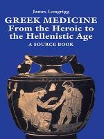 Greek Medicine PDF