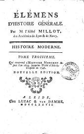 Histoire moderne: Volume3