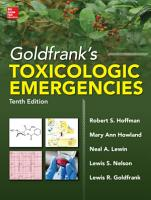 Goldfrank s Toxicologic Emergencies  Tenth Edition  ebook  PDF