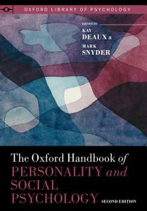 The Oxford Handbook of Personality and Social Psychology PDF