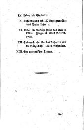 Gesammelte Schriften: Band 9
