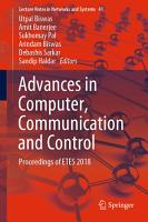 Advances in Computer  Communication and Control PDF